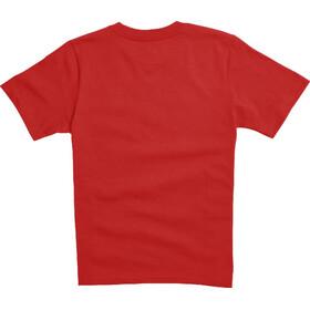 Fox Legacy Moth Shortsleeve T-Shirt Kinder dark red
